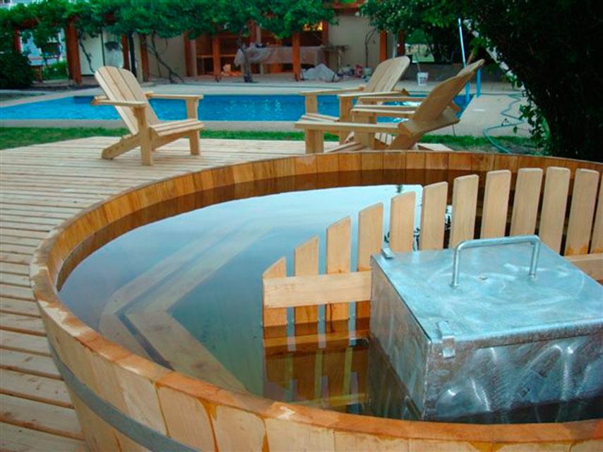 Tinas for Calefactor para piscina
